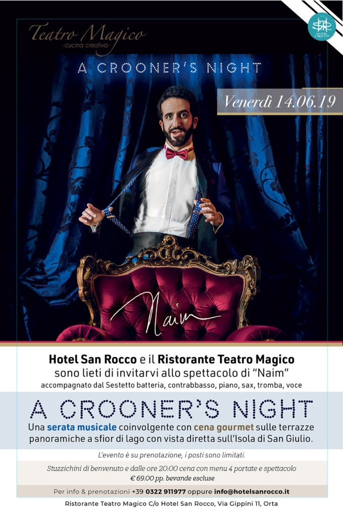 A CROONER'S NIGHT