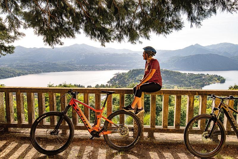 Nuova guida bike Lago d'Orta