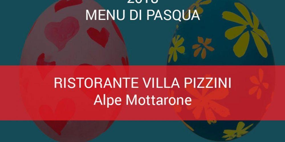 Menu di Pasqua Villa Pizzini 2018