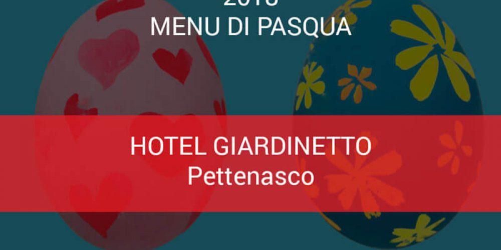 Menu di Pasqua ristorante Giardinetto