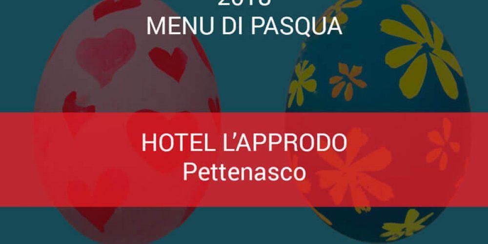 Menu Pasqua Hotel L'approdo
