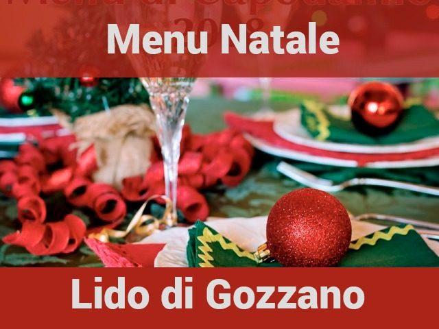 Menu di Natale Lido di Gozzano