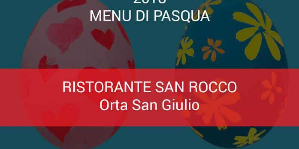 Menu Pasqua Hotel San Rocco