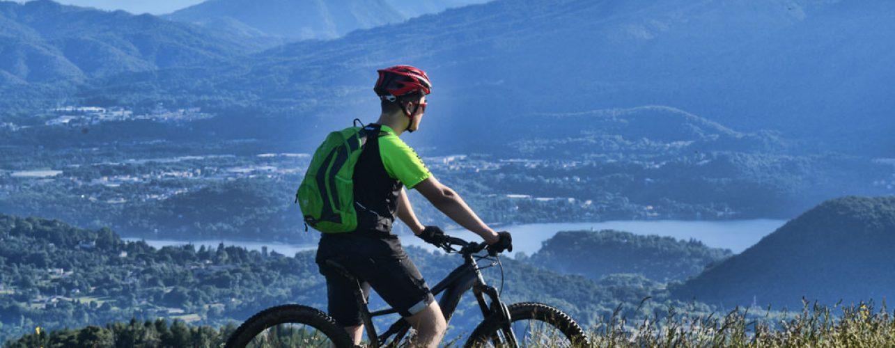Itinerario bike alpeggi Mottarone