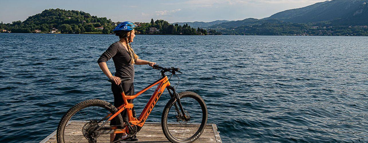 Itinerario bike riviera Orta San Giulio
