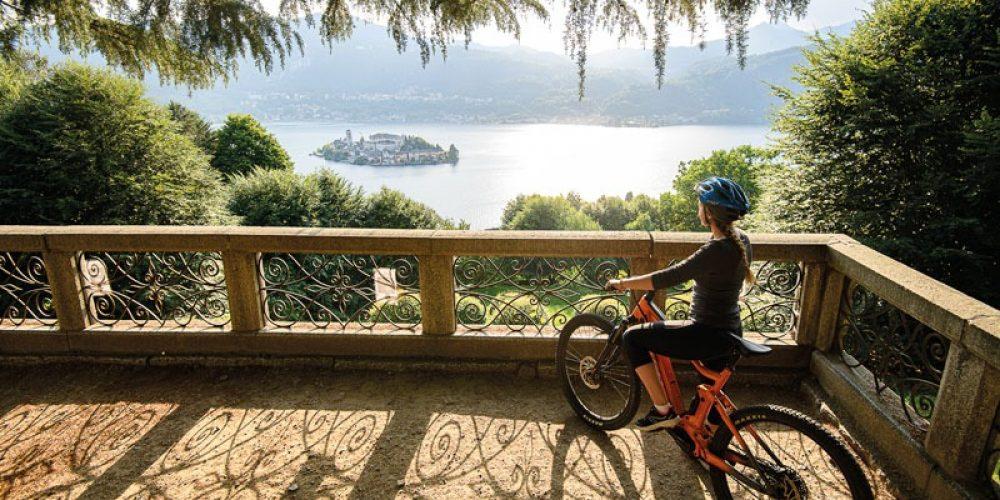 Itinerari in MTB Lago d'Orta