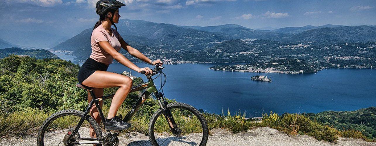 Itinerario bike Boleto monte Avigno