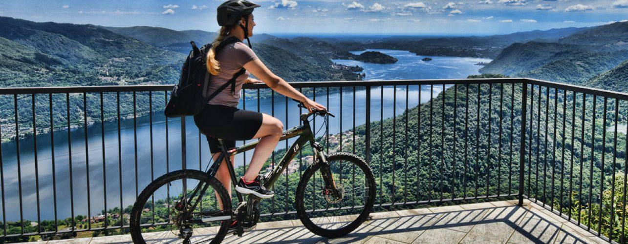 Itinerario bike alpeggi Quarna