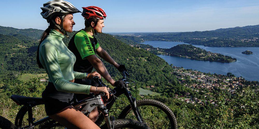 Corso per accompagnatori bike Lago d'Orta