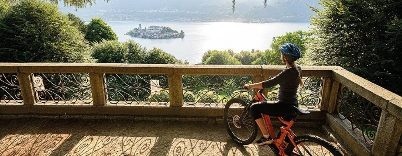 Itinerario bike giro lago d'Orta