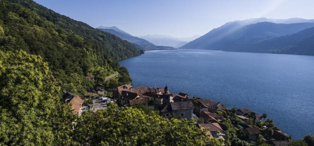 Lago d'Orta Piemonte Italy
